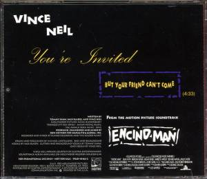 Vince Neil: You're Invited (But Your Friend Can't Come) (Promo-Single-CD) - Bild 2