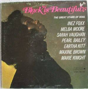 Cover - Inez Foxx: Black Is Beautiful - The Great Stars Of Soul