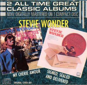 Stevie Wonder: My Cherie Amour / Signed, Sealed And Delivered (CD) - Bild 1