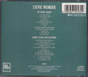 Stevie Wonder: My Cherie Amour / Signed, Sealed And Delivered (CD) - Bild 2