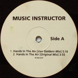 "Music Instructor: Hands In The Air (12"") - Bild 1"