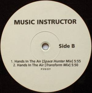 "Music Instructor: Hands In The Air (12"") - Bild 2"