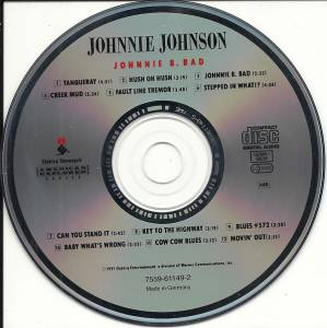 Johnnie Johnson: Johnnie B. Bad (CD) - Bild 3