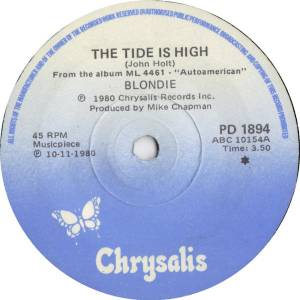 "Blondie: The Tide Is High (7"") - Bild 1"