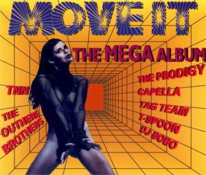 Cover - Spanic: Move It - The Mega Album