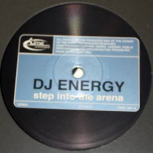 Cover - DJ Energy: Step Into The Arena