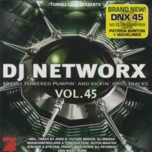 Cover - D-Block & S-te-Fan: DJ Networx Vol. 45