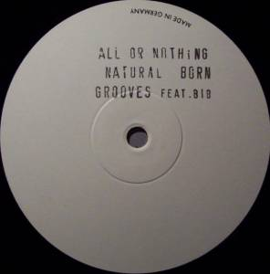 Cover - Natural Born Grooves: All Or Nothing