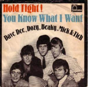 Dave Dee, Dozy, Beaky, Mick & Tich: Hold Tight! - Cover
