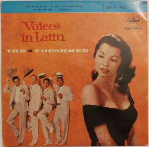 Cover - Four Freshmen, The: Voices In Latin