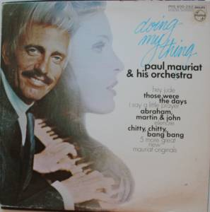 Cover - Paul Mauriat And His Orchestra: Doing My Thing