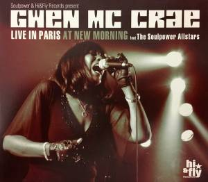 Cover - Gwen McCrae: Live In Paris At New Morning
