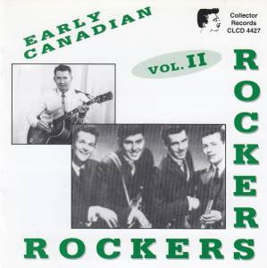 Cover - Midnighters, The: Early Canadian Rockers Vol. 2