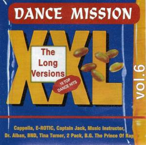 Cover - Love Message: Dance Mission XXL Vol.6 - The Long Versions