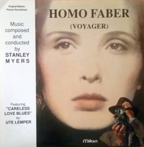 Cover - Stanley Myers: Homo Faber (Voyager)
