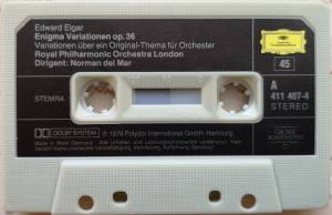 Edward Elgar: Enigma-Variationen Op. 36 / Pomp And Circumstance Op. 39 (Tape) - Bild 4