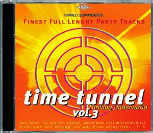 Cover - Space Planet: Time Tunnel - Thrilling Underworld Vol. 3