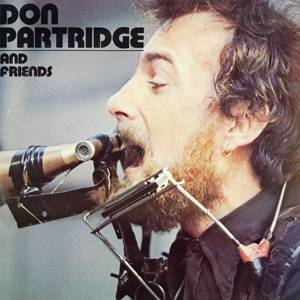 Cover - Don Partridge: Don Partridge And Friends