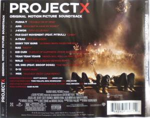 Project X (Original Motion Picture Soundtrack) (CD) - Bild 2