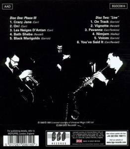 "The Don Rendell & Ian Carr Quintet: Phase III / ""Live"" (2-CD) - Bild 2"
