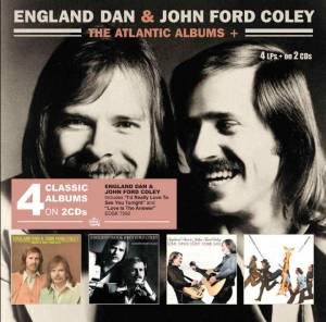 Cover - England Dan & John Ford Coley: Atlantic Albums +, The