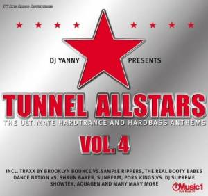 Cover - Manian: Tunnel Allstars - The Ultimate Hardtrance And Hardbass Anthems Vol. 4