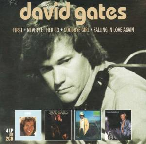 Cover - David Gates: First + Never Let Her Go + Goodbye Girl + Falling