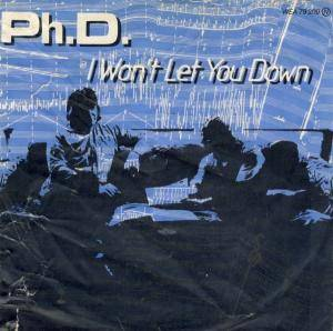 Ph.D.: I Won't Let You Down - Cover