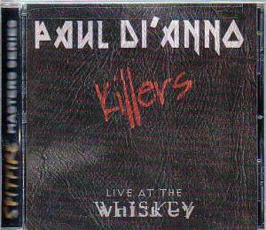Cover - Paul Di'Anno: Killers - Live At The Whiskey
