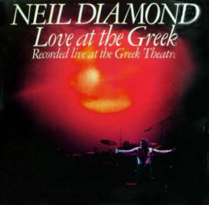 Neil Diamond: Love At The Greek - Cover