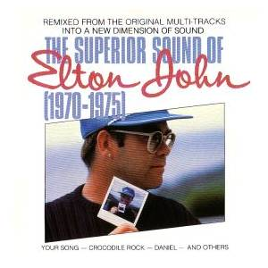 Elton John: Superior Sound Of Elton John (1970-1975), The - Cover