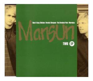 Cover - Mansun: Two EP