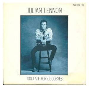 Cover - Julian Lennon: Too Late For Goodbyes