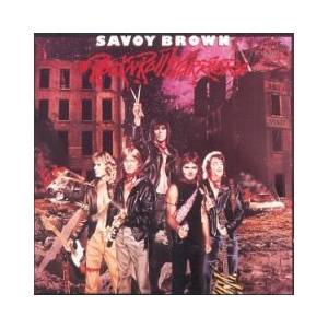 Savoy Brown: Rock 'n' Roll Warriors - Cover