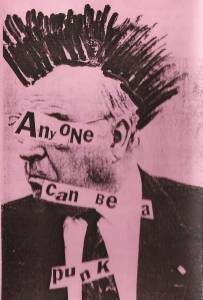 Cover - Am I Jesus: Anyone Can Be A Punk