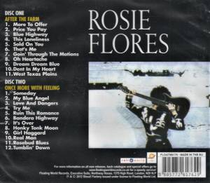 Rosie Flores: After The Farm / Once More With Feeling (2-CD) - Bild 2