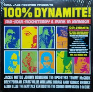 Cover - Phyllis Dillon: 100% Dynamite! - Ska, Soul, Rocksteady & Funk In Jamaica