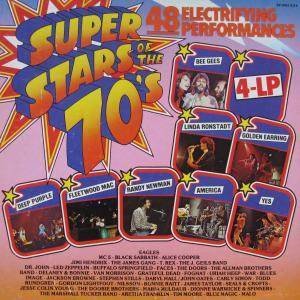 Super Stars Of The 70's - Cover
