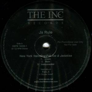 "Ja Rule: New York (Promo-12"") - Bild 4"