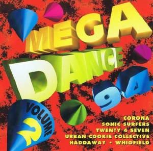Cover - T.O.C. Feat. Rocca: Mega Dance 94 Volume 2