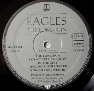 Eagles: The Long Run (LP) - Bild 7