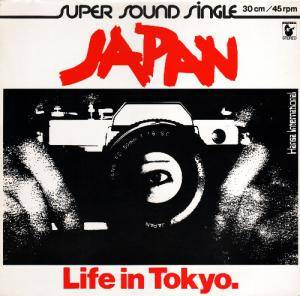 Japan: Life In Tokyo. - Cover