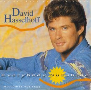 David Hasselhoff: Everybody Sunshine - Cover
