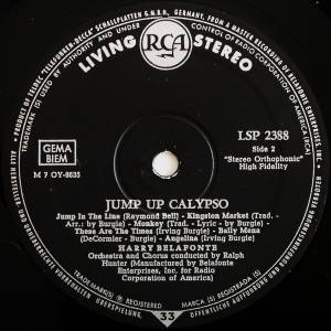 Harry Belafonte: Jump Up Calypso (LP) - Bild 4