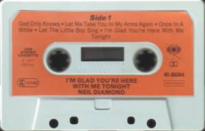 Neil Diamond: I'm Glad You're Here With Me Tonight (Tape) - Bild 4