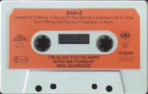 Neil Diamond: I'm Glad You're Here With Me Tonight (Tape) - Bild 5