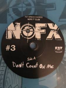 "NOFX: Don'T Count On Me (7"") - Bild 3"