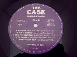 The Case: Blues-Power (LP) - Bild 3