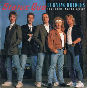 Status Quo: Burning Bridges (On And Off And On Again) - Cover