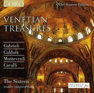 Sixteen: Venetian Treasures, The - Cover